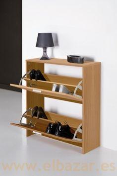Como hacer un mueble zapatero ideas para la casa mueble for Zapatero color nogal