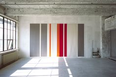 Name: Along These Lines MFG: Studio Lawrence Interest: Sourced from Germany's leading supplier, reinforcing Studio Lawrence's belief in using only highest quality. Wool Wall Hanging, Dream Studio, Office Interiors, Design Awards, Cool Designs, Ikea, Cool Stuff, Outdoor Decor, Felted Wool
