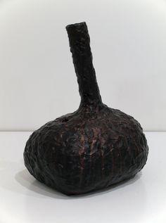 Graham Fletcher, 2014, Untitled (Head 1), ceramic and acrylic, 410 x 250 x 310mm