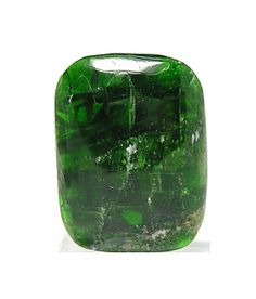 Emerald Green Chrome Diopside Gemstone Polished by FenderMinerals,