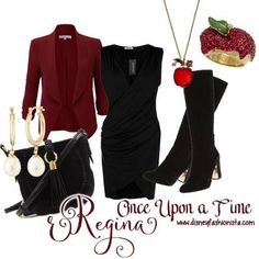 Disney Bounding With the Disney Fashionista- Once Upon A Time's Regina!