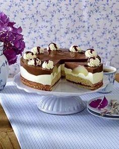 Das Rezept für Birnen-Schoko-Torte und weitere kostenlose Rezepte auf LECKER.de