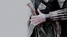 all it takes is a single look, and kiredan's hand shoots for his dagger. the iron bull, he called himself, as he took rune's hand in his. one wrong move, kiredan thinks.