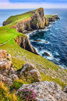 Neist Point lighthouse & coastline by Martin Molcan