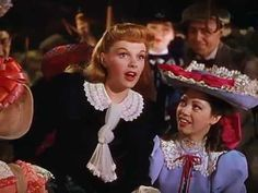 Judy Garland ~ The Trolley Song (Meet Me In St. Louis, 1944)  I've lost count for the times I've watched this musical!