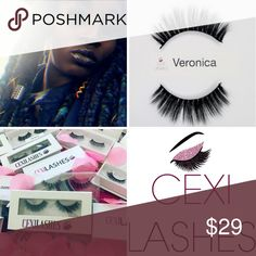 High Quality Up to 25 wears Cruelty-free Invisible Band Cexi Lashes Makeup False Eyelashes False Eyelashes, Mink, Cruelty Free, Makeup, Closet, Things To Sell, Lash Extensions, Maquillaje, Maquiagem