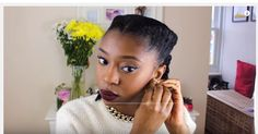 The Ultimate Tutorial to Autumn Protective Hairstyle And Makeup For Black Girls - Black Women's Natural Hair Styles - A.A.H.V