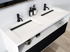 Sink, Black And White, Home Decor, Black White, Homemade Home Decor, Vessel Sink, Blanco Y Negro, Sink Tops, Sinks