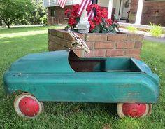 Vintage AMF Buick Skylark Juvenile Peddle Car Unrestored