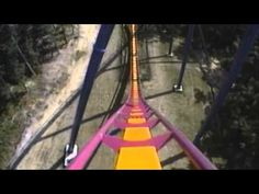 Nitro Roller Coaster POV Off-Ride On-Ride Front Seat Six Flags Great Adventure New Jersey - YouTube