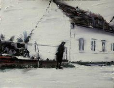 "Saatchi Online Artist Anthony Oliver; Painting, ""one way street"" #art"