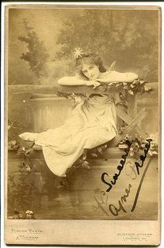 "Agnes Fraser as ""Iolanthe"" in Iolanthe"