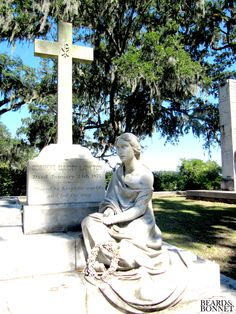 Sunday Snapshots: The Art of the Cemetery Part 3, Bonaventure Cemetery Savannah, GA {Beard and Bonnet}