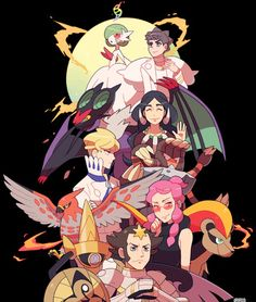 The Elite Four and Champion (6 out of 6)