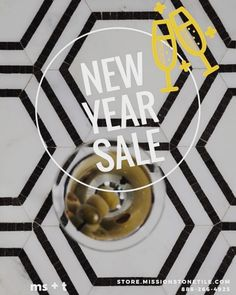 New Year New Tile Sale!!! We have extended our Holiday Sale through 12/31/15!  Get your Hex Appeal on while Supplies Last! http://ift.tt/1xPXnoi #missionstonetile #motonashville #hexappeal #stonetile #hexagons #porcelain #beveledarabesque #newyearsale #newyear #interiordesign #design #details #love #homedecor #home #tile #tileaddiction #ihavethisthingwithfloors #cheers #saluti #cocktails #champagne #bubbly #fanshapedtile #newyearseve #holiday by missionstonetile