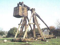 Trebuchet, I want one for my back yard.