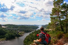 Svinesund - the border between Sweden and Norway