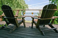 """Goose Watch Winery - """"From the deck at our Finger Lakes Tasting Room."""" Classic Adventures bicycle tour guests can have this same view this summer or fall."""