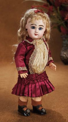 Upon Arriving Home: 33 Wonderful All-Original French Bisque Bebe Jumeau in Petite Size 2,with Original Box