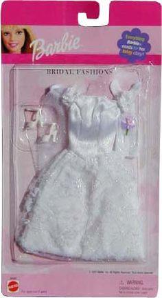Girly Stuff, Girly Things, Barbie Clothes, Barbie Dolls, Diy Barbie Furniture, Barbie Wedding, Our Generation Dolls, Barbie And Ken, Bridal Sets
