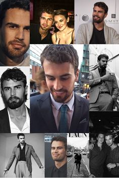A lil collage I made ❤️ #theojames #four #divergent