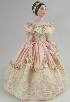 Beautiful dollhouse doll ♥