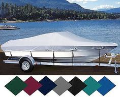 SEMI-Custom Fit Boat Cover FOR ACHILLES SG 124 1960-2013 O/B INFLATABLE