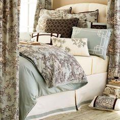 Master bedding idea