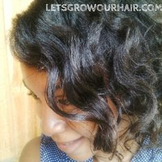 Lets Grow Our Hair!: Get Beach Waves with Bantu Knots