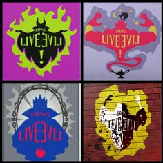 descendants evil graffiti - Buscar con Google