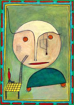 Paul Klee, error on green 1939
