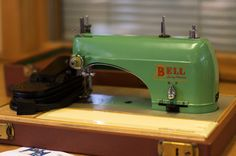 My little Bell sewing machine