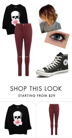 """""""exam week without the exam"""" by canadian-camera-lover ❤ liked on Polyvore featuring WearAll and Converse"""