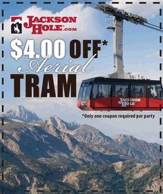 Summer Ride The Tram | Jackson Hole Mountain Resort/ My Grandsons favorite thing on earth to do!