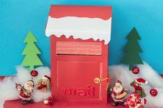 Une boîte aux lettres de l'Avent – La petite vie de Ci