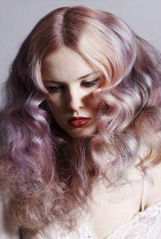 Pastels hair color.