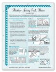 Binding - Joining Ends. Because it is good to know before you sew!