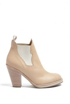 Sand Star Pull On High Heel Boot by Acne