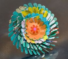 Recycled Tin Can Flowers