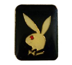 """PLAYBOY BUNNY vintage lapel cloisonne enamel pin by VintageTrafficUSA  14.00 USD  A vintage Playboy pin! Excellent condition. Measures: approx 1"""" 20 years old hard to find vintage high-quality cloisonne lapel/pin. Beautiful die struck metal pin with colored glass enamel filling. Add inspiration to your handbag tie jacket backpack hat or wall. Have some individuality = some flair! -------------------------------------------- SECOND ITEM SHIPS FREE IN USA!!! LOW SHIPPING OUTSIDE USA!! VISIT MY…"""