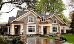 such a neat looking house
