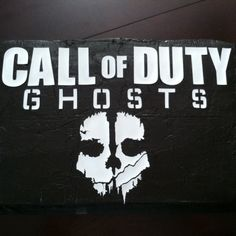 Call of Duty Ghost cake