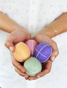 Easy Felt Easter Egg Patterns | EASY DIY and CRAFTS