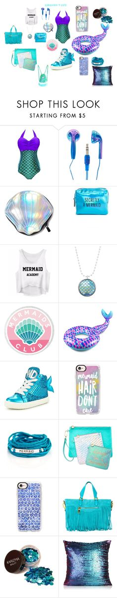 """""""Mermaids 4 Life"""" by summerstylelife ❤ liked on Polyvore featuring Circus by Sam Edelman, Pinch Provisions, Big Mouth, Miss KG, Casetify, Blooming Lotus Jewelry, Celebrate Shop and J. Valentine"""