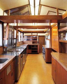 Hollyhock House (actress Aline Barnsdall), E. Hollywood, CA Kitchen   Frank  Lloyd Wright