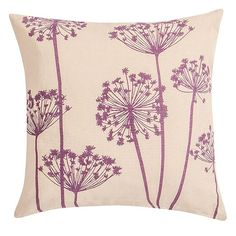 Home Printed Cow Parsley cushion from Tesco Direct | Traditional cushions | PHOTO GALLERY | 25 Beautiful Homes | Housetohome.co.uk