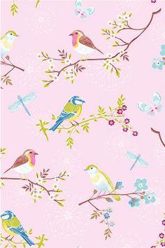 PiP Early Bird Pink wallpaper
