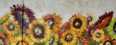 The Accidental Artist: Sunflowers, My Great Sponsors (so far!), and a Video! Tons of good stuff in this one...