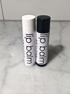 HIS and HER's lip balm / lip balm set / organic lip balm / simple lip balm / pure / natural / .15 ounce  #organic #lipbalm #handmade #Etsy #ARTLESSorganix #betterThanBurts