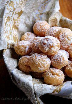 castagnole - carnival dessert